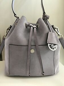 MICHAEL KORS Greenwich Bucket Bag Lilac