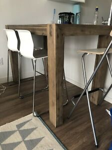 Modern and trendy wood table for sale