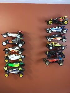 Massive lot of vintage Rc cars and parts