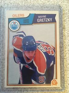 Wayne Gretzky 4th Year Card