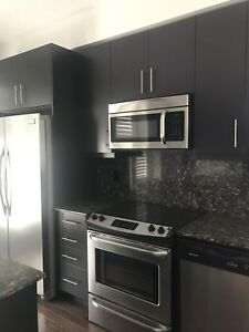 FULL KITCHEN WITH GRANITE COUNTERTOP AND APPLIANCES