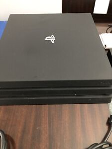 PS4 PlayStation 4 Pro with EVERYTHING you need
