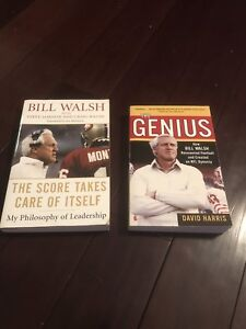 Two Bill Walsh books.