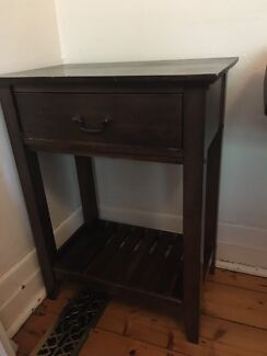 Period phone stool (bedside table)