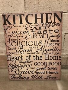 Kitchen Picture on Canvas - from Home Sense