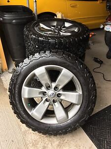 Ford F-150 FX4 rims and KO2 tires