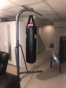 Boxing Bag with Stand