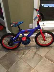 """Spider-Man Bicycle 14"""" with Training Wheels"""