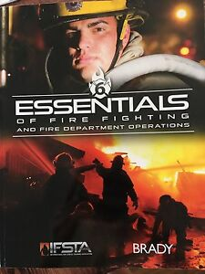 Essentials of Fire Fighting version 6 textbook