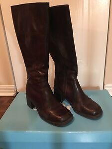 Brown boot women size 40