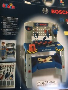 Bosch Mini Workbench with sound effects w/Box