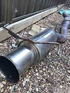 R33 rb25gtst exhaust Craigieburn Hume Area Preview
