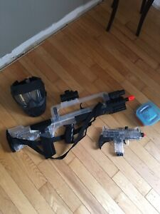 AirSoft gun and accessories 10$