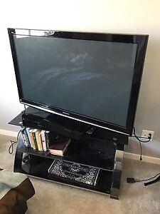 50'' Panasonic tv and TV stand