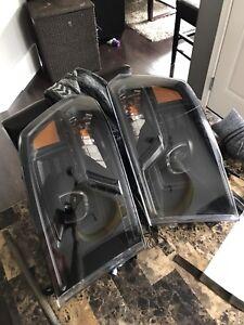 09-17 Dodge Ram headlights