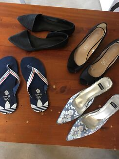 Women's shoes and thongs - size 8 (aus)