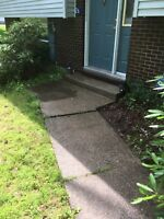 Need your walkway cleaned !! Book now and save big!!