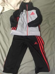 Adidas track suit size 2T