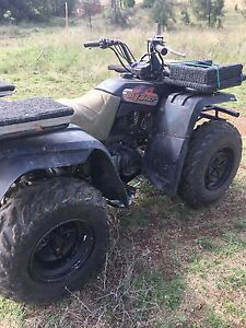 Yamaha big bear 350 4wd farm quad East Tamworth Tamworth City Preview