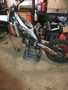 2013 kx250f for parts