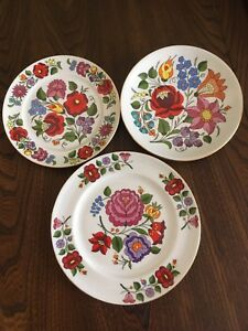 Kalocsa Decorative Plate Collection
