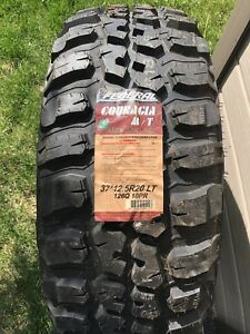 37x12.50R20 Federal Couragia M/T