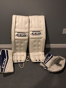 NEW PRICE! LIKE NEW...CCM RetroFlex. 34+2 Pads and Gloves.