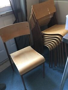 Chairs approximately 50 of them