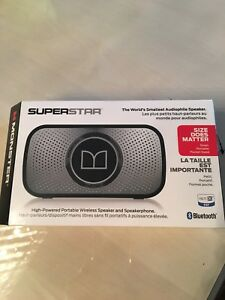 Sealed package -New Monster Supers Bluetooth Wireless Speaker