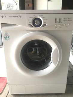 Perfect working LG 7kg washing machine