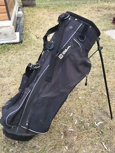 Golf bag w/stand