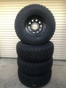 Brand new 15x8 Dynamic NEG 22 D hole wheels with 33x12.5R15 Aplus M/T Caboolture Caboolture Area Preview
