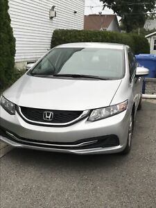 HONDA CIVIC LX 2015 65 XXXKM GRIS CAMERA BLUETOOTH