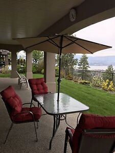 Patio set with 3 chairs