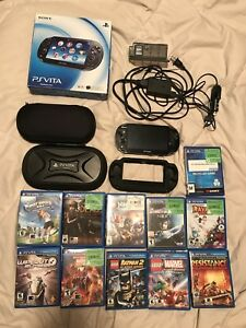 PlayStation vita and 12 games