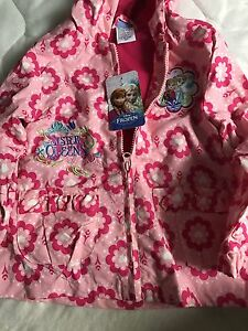 Frozen 2T Spring Jacket NWT
