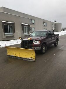 Ford F-150 with fisher plow