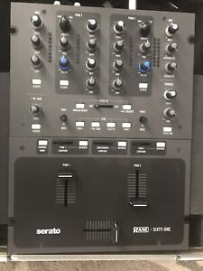 RANE Sixty One 2 Channel Mixer Excellent cond. 1 YR. WARRANTY