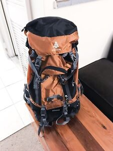 Woods camping backpack
