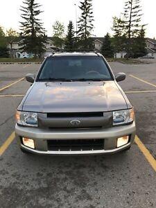 2001 INFINITI QX4 3.5L V6 4X4