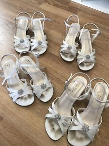 White children's dress sandals