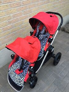 Double city select stroller