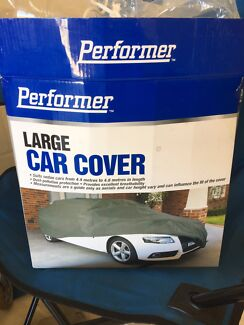 Brand New Grey Large Car Cover