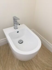 Like New Hardly Used Bidet with Faucet