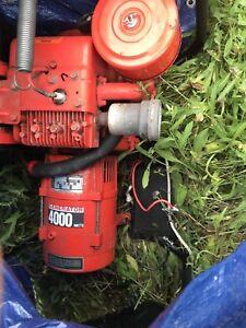 4000 watt 120/240 volt generator