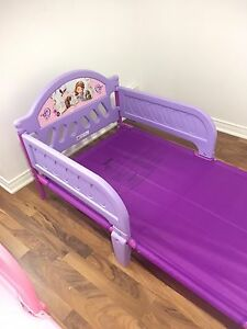 Sofia's Toddler bed