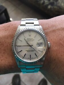 Vintage Rolex oyster datejust perpetual