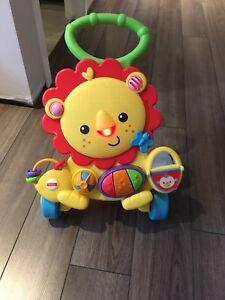 Lion trotteur pour bébé marcheur