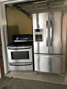 """High Quality Kenmore SET Like NEW: 36""""w FRIDGE/STOVE DELIVER"""