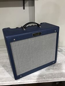Fender blues jr III special edition blue tolex